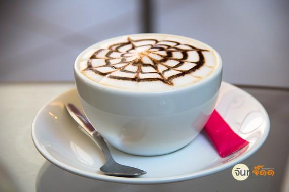 chocolate latte ที่ทำด้วยความใส่ใจของบาริสต้า